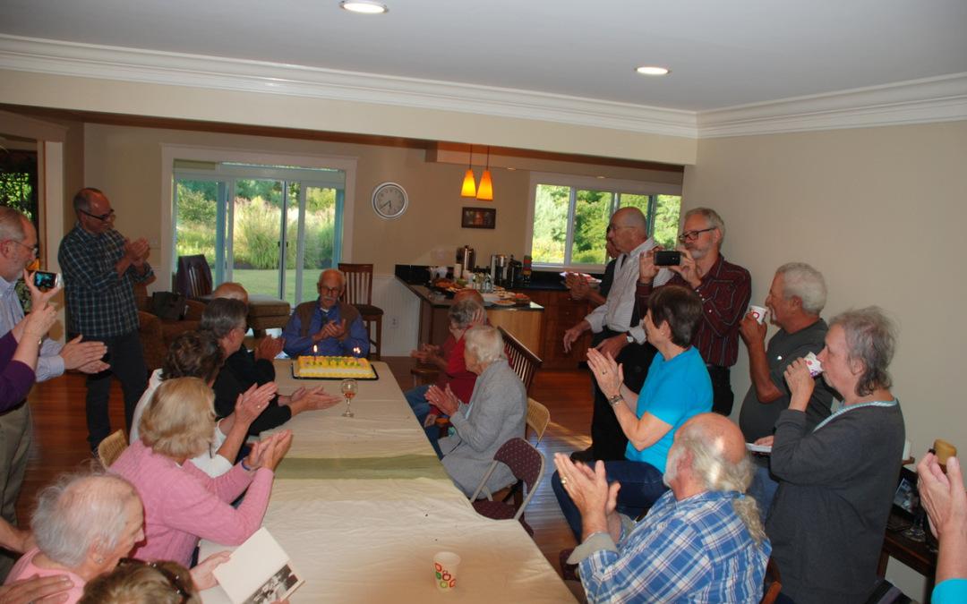 Uncle Joe Palumbo's 95th birthday